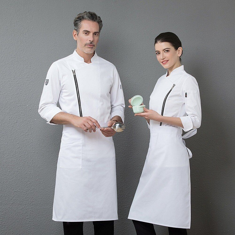 The different parts of a chef's uniform