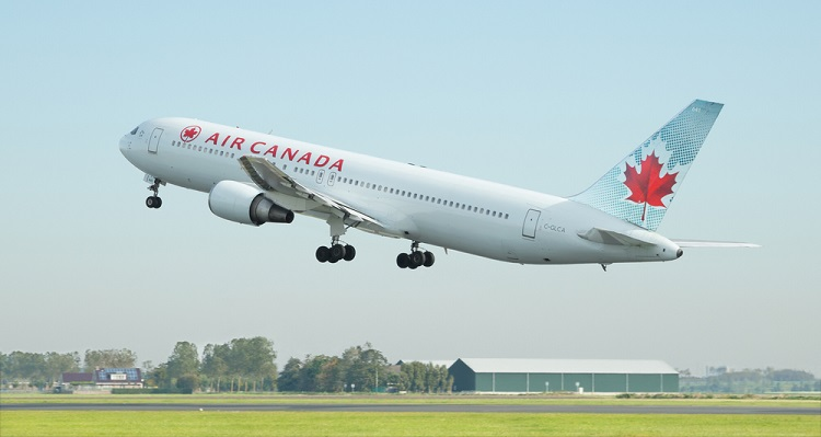 Two planes collided in Canada