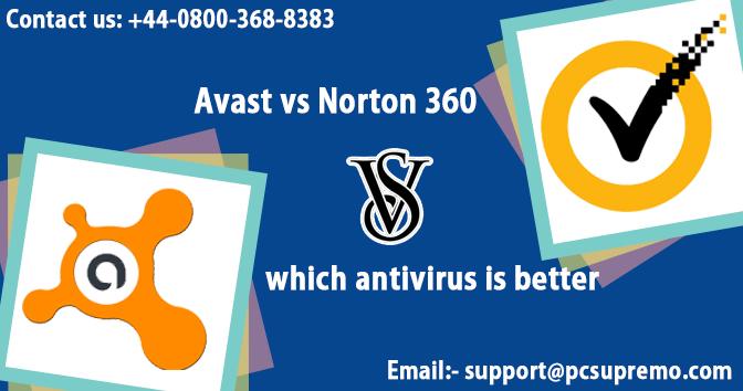 Avast vs Norton 360