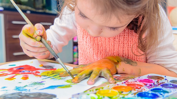 How To Engage Your Kids With Paint By Number Kits in Quarantine